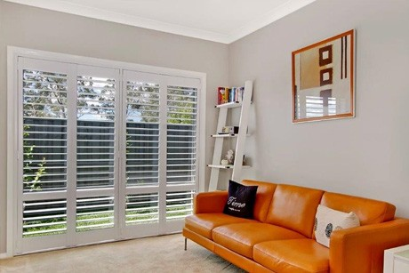 Lounge Room Plantation Shutters